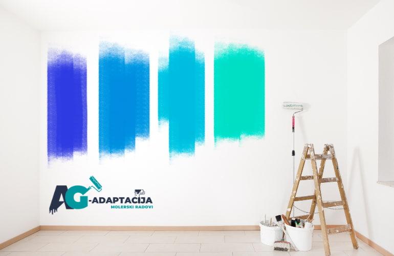 Kako odabrati boje i kako utiču na vaš prostor - 2021